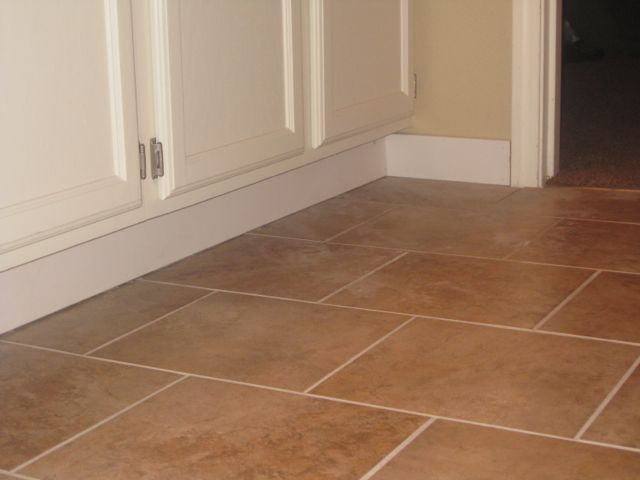 Vinyl Flooring With Tile May 2012 Tile Is Mesa Beige From Lowe S
