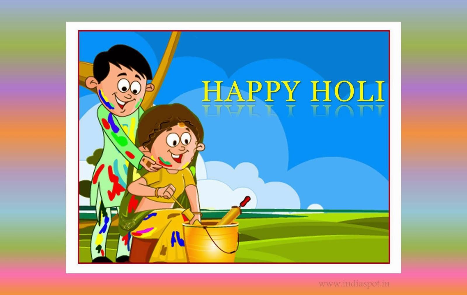 Happy Colorful Holi 2014 Hindi SMS Shayari