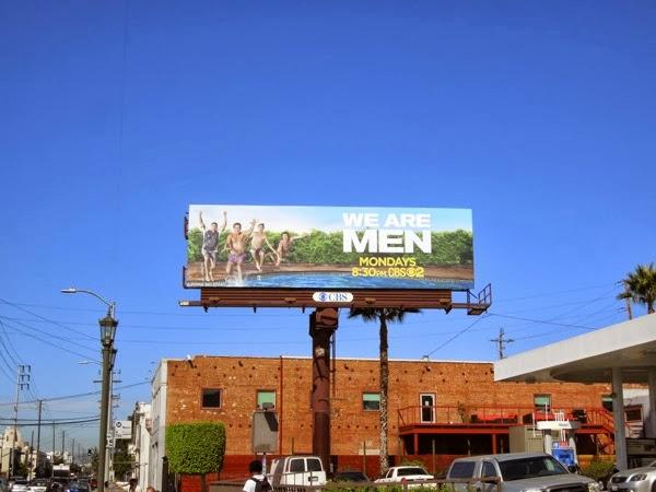 We Are Men billboard