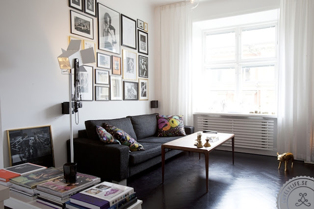 Patric Öhlund's Stockholm apartment (via nestpearls.blogspot.fr)