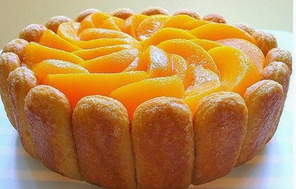Baño Sencillo Para Tortas:Dulces delicias: Torta de galletas de champaña