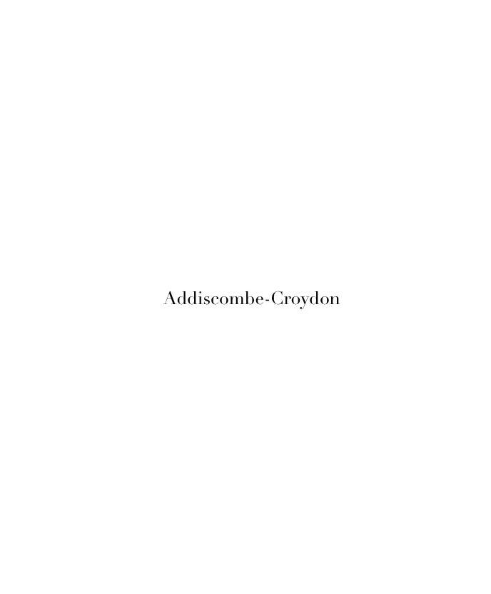 Addiscombe-Croydon