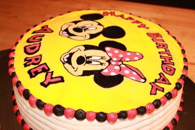 Cakes And Cooking Mickey And Minnie Mouse Cake
