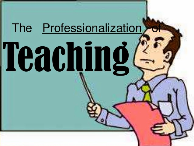The Professionalization teaching