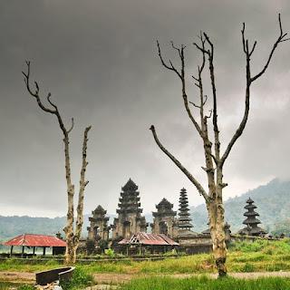 Surface Bali began declining