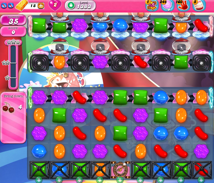 Candy Crush Saga 1383