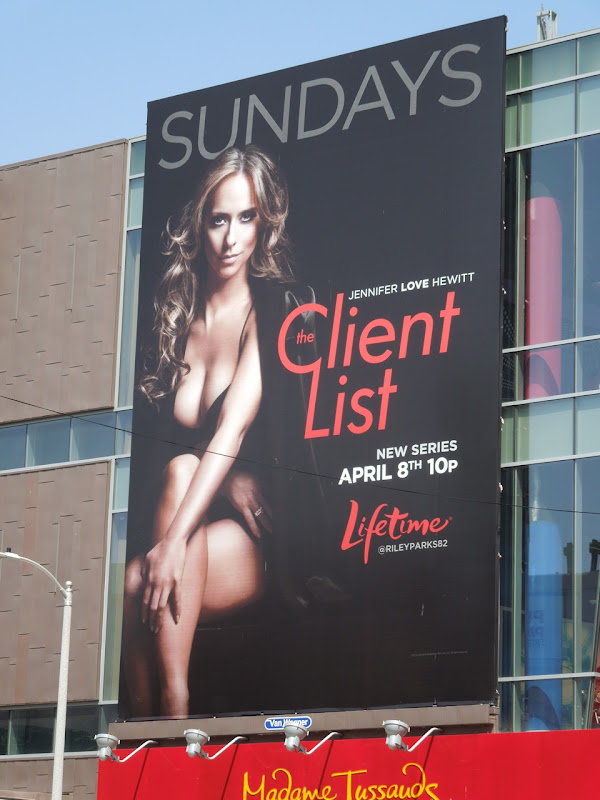 The Client List Lifetime billboard