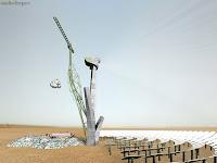 Solar energy to make raw petroleum from waste plastics