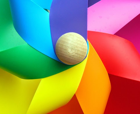 molinillo de viento colores