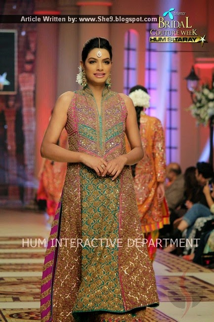 Umar Sayeed Bridal Wear Collection