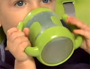 Toddler with Sippy Cup - Source: epa.gov