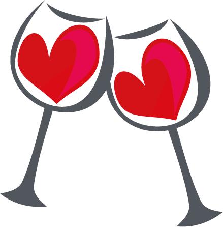 Brindis de San Valentín