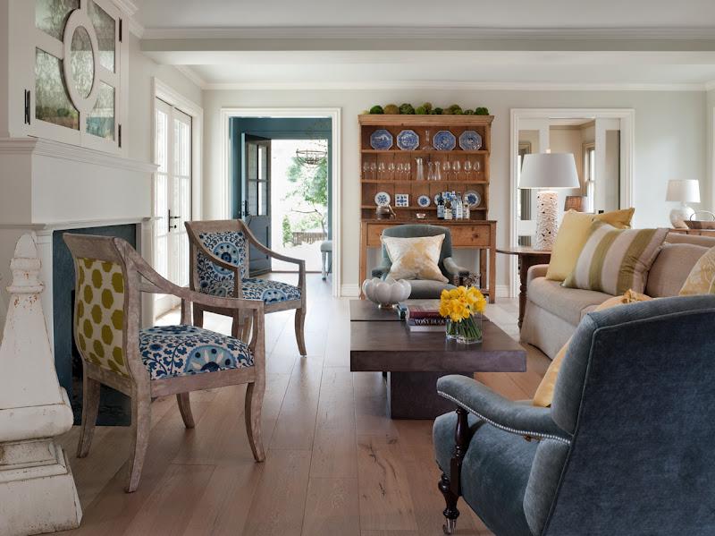 interior design soft blues and sandy beige decor
