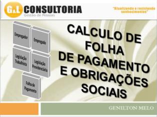 CURSO DE FOLHA DE PAGAMENTO