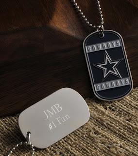 NFL Dog Tags