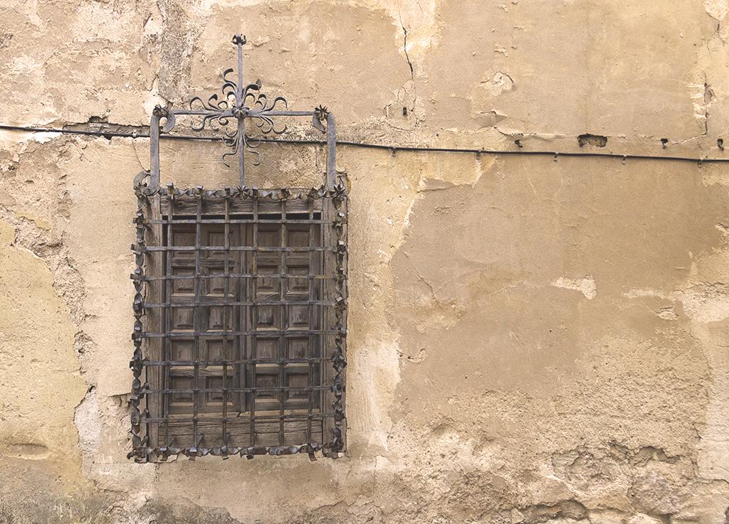 Fotografía ventana centro histórico Cuenca