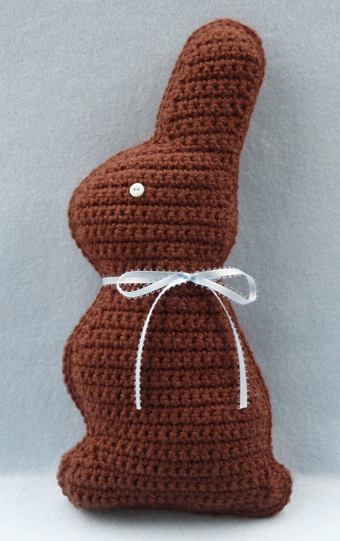 Whiskers Wool Chocolate Easter Bunny New Pattern In Shop