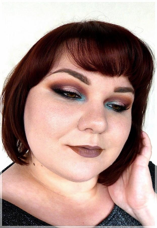 Linda Hallberg nachgeschminkt
