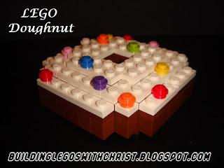 LEGO Food Creations, LEGO Doughnut