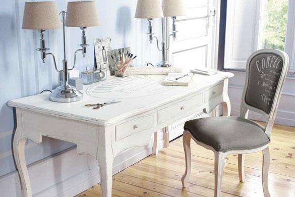Pintura y madera c mo decorar mi oficina en casa for Como decorar una oficina en casa