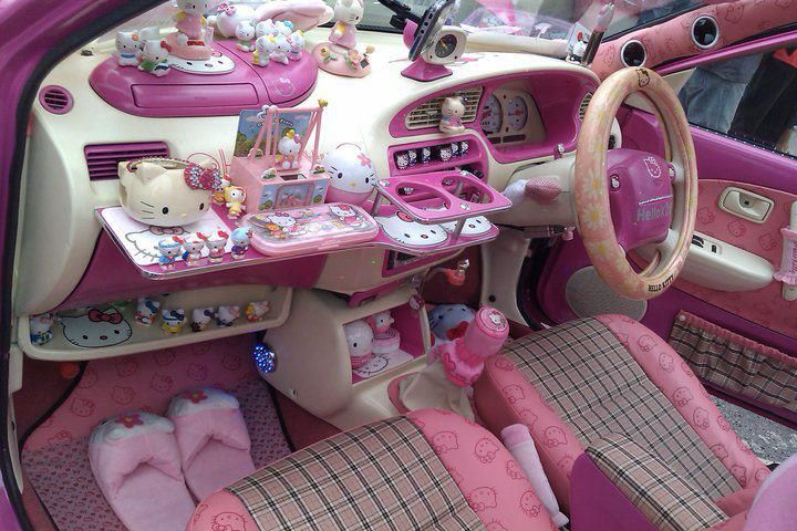 Lease the power within cars r us - Girly interior car accessories ...