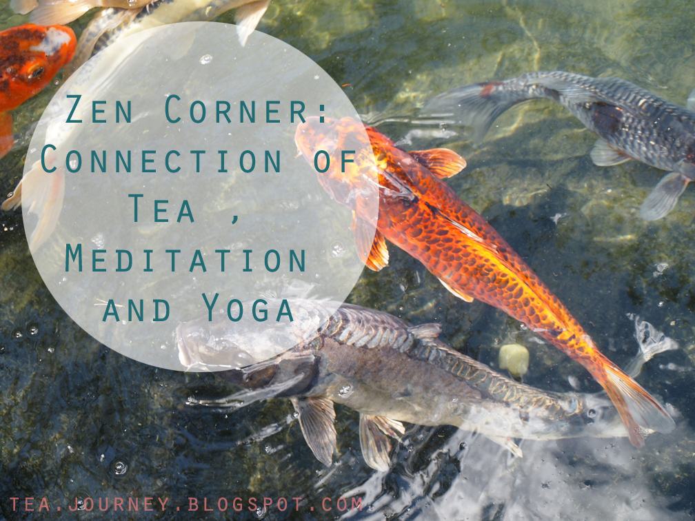 zen corner connection tea meditation yoga health wabi sabi universe