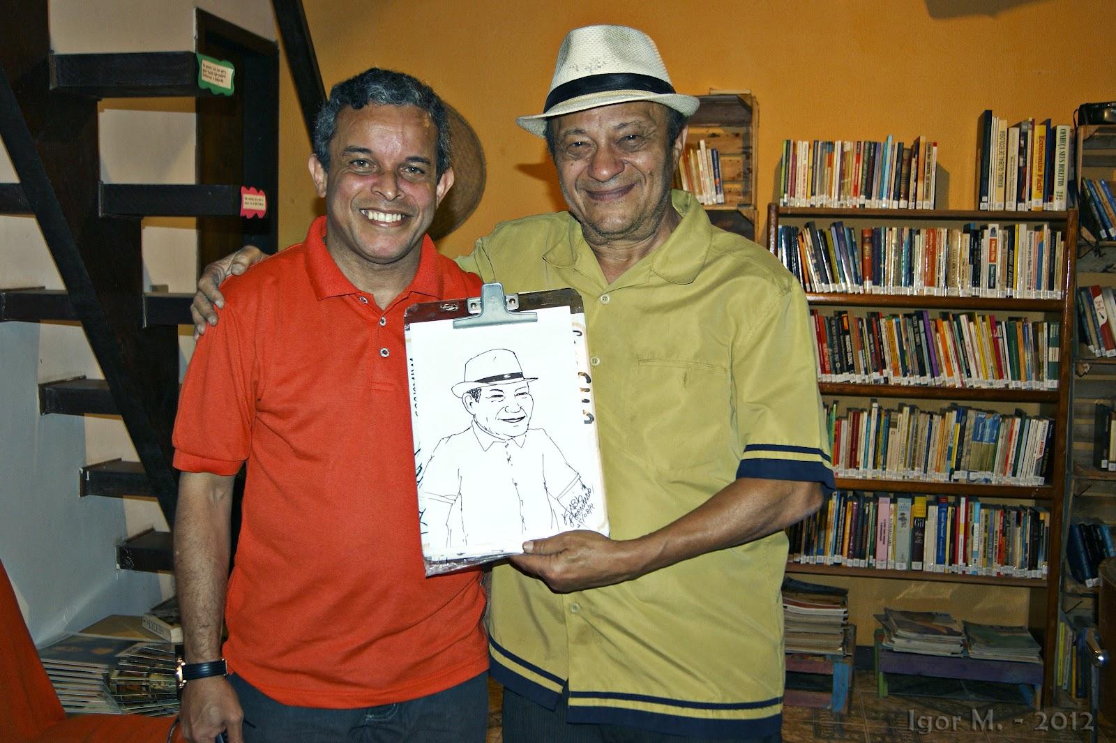 Fábio Fernando e Mano Melo. Foto: Igor M.