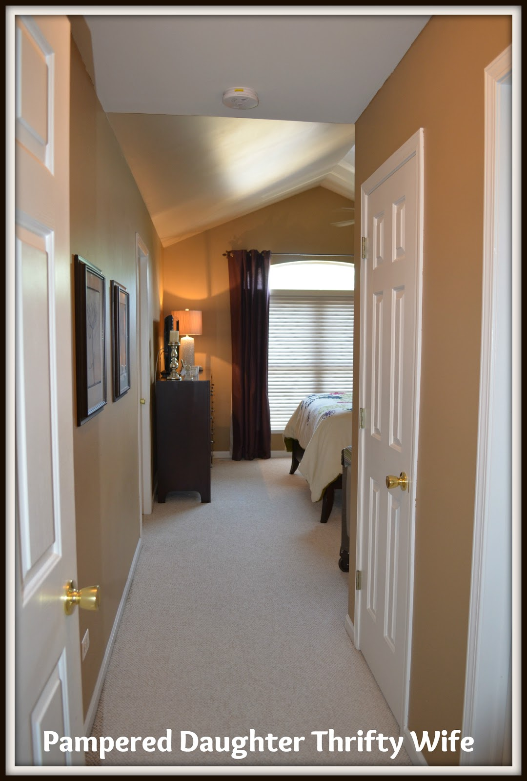 Master Bedroom Entryway Looking In