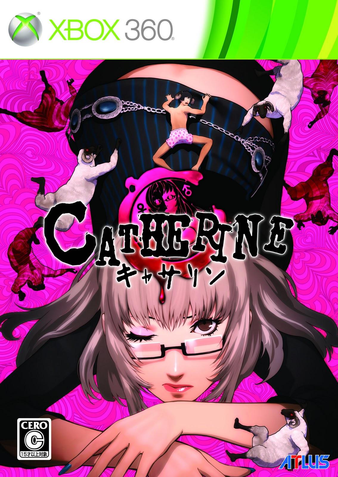 É hora de relembrar as melhores capas dos jogos da última geração Zerochan.Catherine.431244