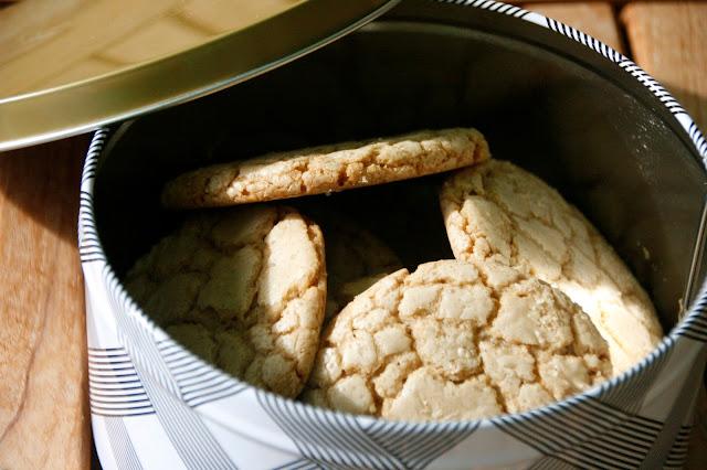 Cookies de sucre morè per esmorzar