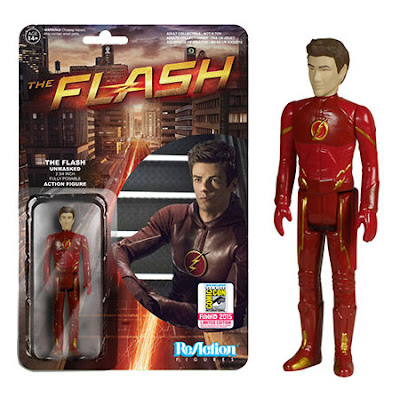 "San Diego Comic-Con 2015 Exclusive ""Unmasked"" The Flash TV Series ReAction Retro Action Figure by Funko"