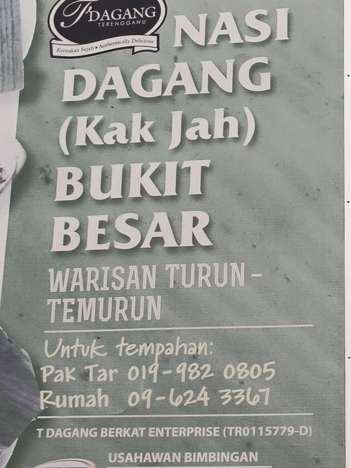 Nasi Dagang KAK JAH Bukit Besar Kuala Trengganu