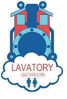 Lavatory Sign