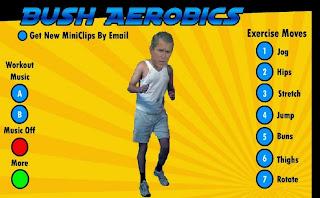 العب رقصة جورش بوش