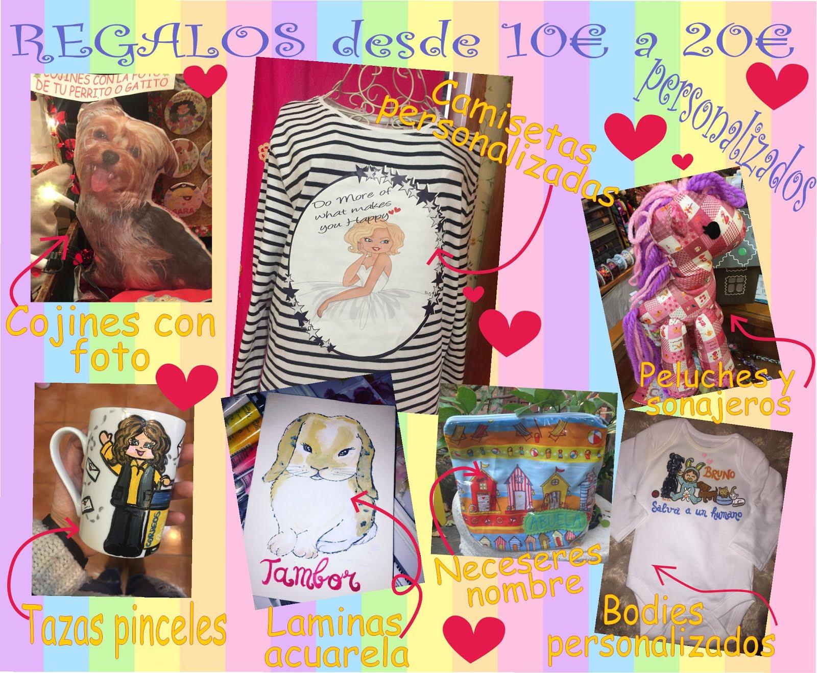 Un montón de regalos únicos!  DESDE 2,75€