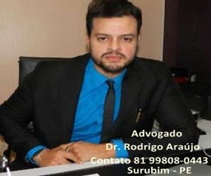 Colunista Dr. Rodrigo Araújo