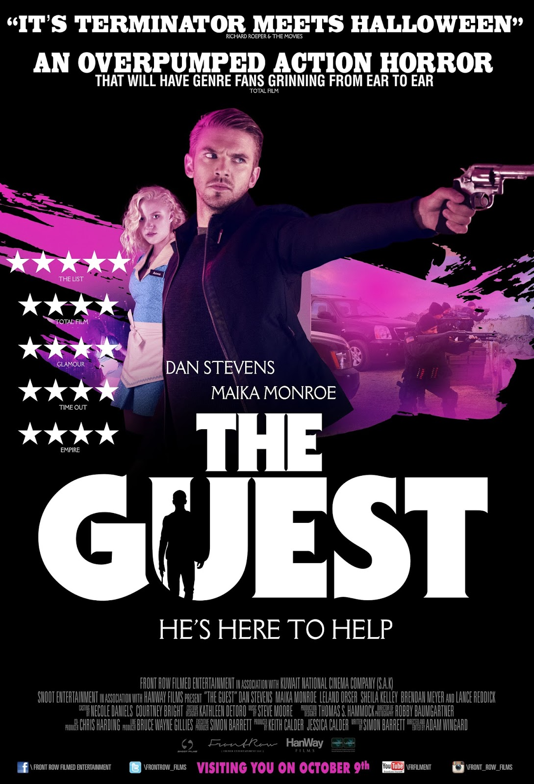 The Guest (2014) ταινιες online seires xrysoi greek subs