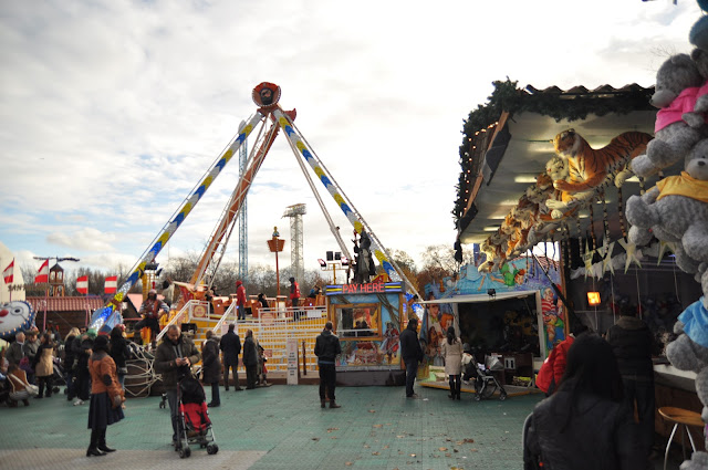 Winter Wonderland Hyde Park Pirate Ship
