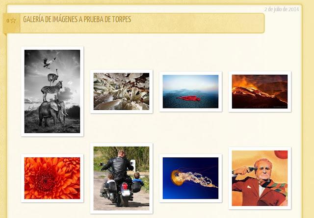Galería de imágenes para Blogger a prueba de torpes