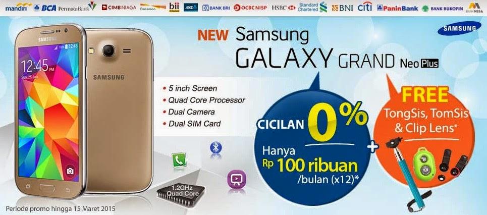 Promo Samsung Galaxy Grand Neo Plus Bonus Paket Narsis