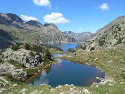 Lacs coté Espagne.