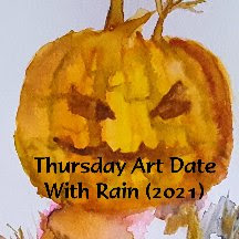Thursday Art Date With Rain (2021) Join me every Thursday for an art date!