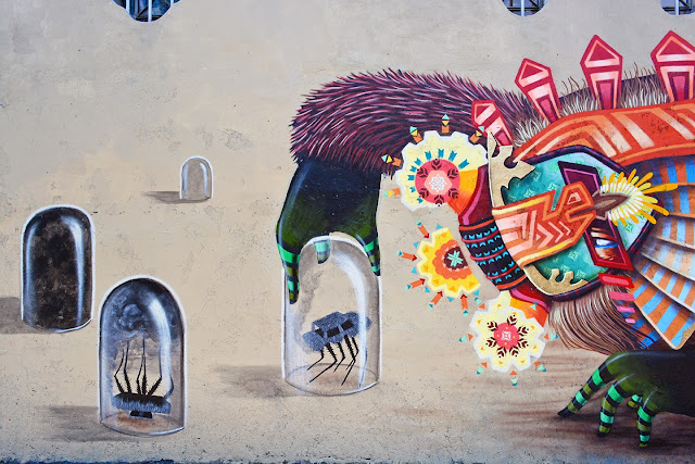 Street Art From Curiot On The Streets Of Mexico City. 3