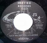 Metronomes - Got To Get You Started / Sailing Away 1980q