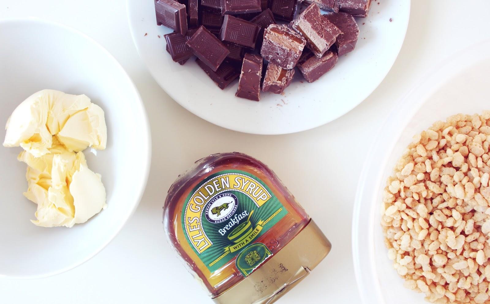 how to make school chocolate crunch