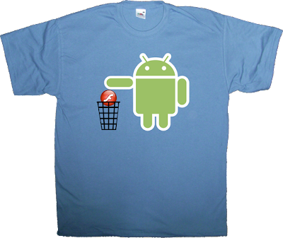 Android flash Flash Wars obsolete iphone ipad t-shirt ephemeral-t-shirts