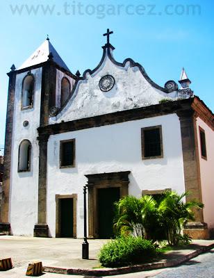 Igreja matriz de São Jorge dos Ilhéus, na cidade baiana de Ilhéus