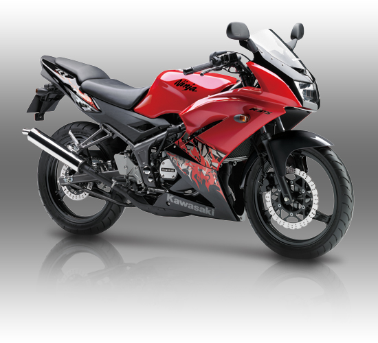 Kawasaki Ninja 150 RR Merah 2013