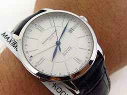 BAUME & MERCIER GMT WHITE DIAL - AUTOMATIC ETA 2893-2