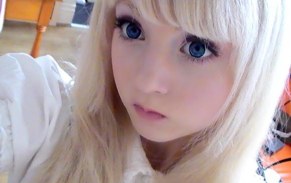 кукольный макияж пошаговое фото
